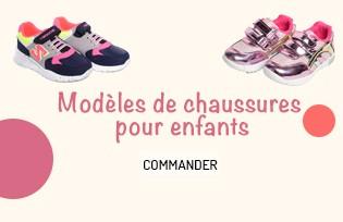 Modèles de Chaussures d´Enfants