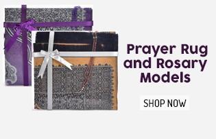 Prayer Rug and Rosary Models