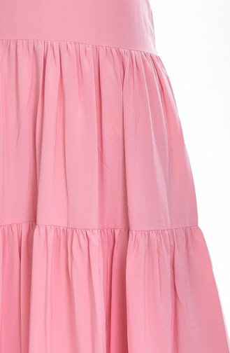 Robe Plissée 0005-02 Poudre 0005-02