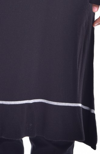 Long Pull Tricot 4018-07 Noir 4018-07
