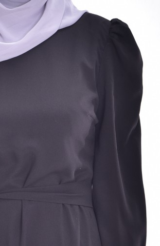 Robe a Ceinture 0032-01 Noir 0032-01