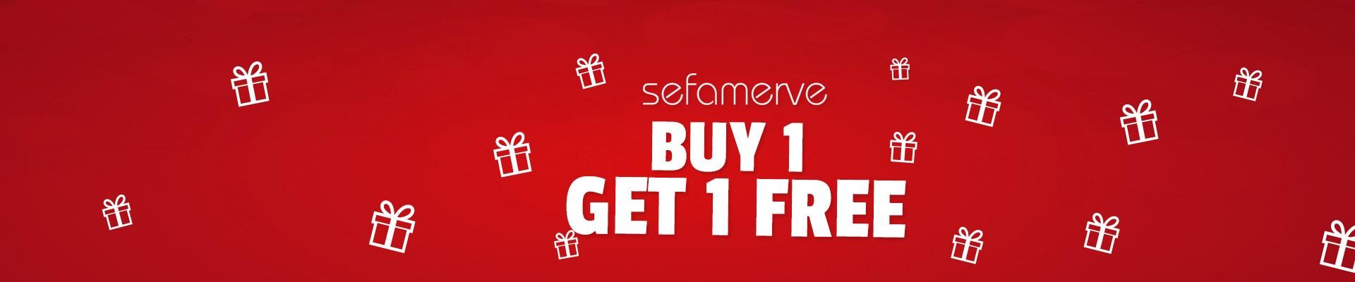 Buy 1 Get 1 Free