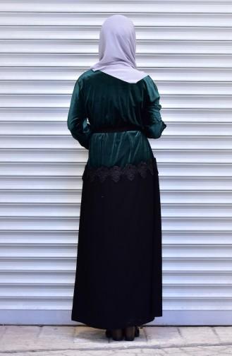 Emerald Abaya 7710-01