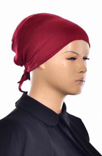 Bonnet Sans Couture Grande Taille 2005-04 Bordeaux 2005-04