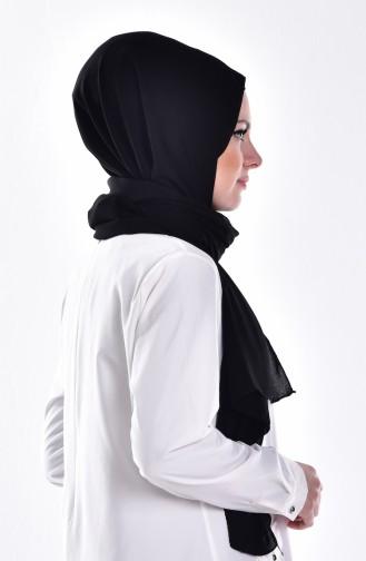 Crepe Shawl 50044-01 Black 01