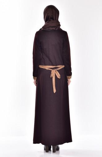 Brown Dress 7330-01