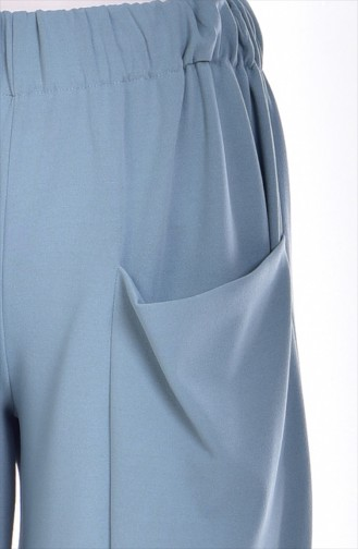 Cepli Şalvar 0550A-01 Bebe Mavi