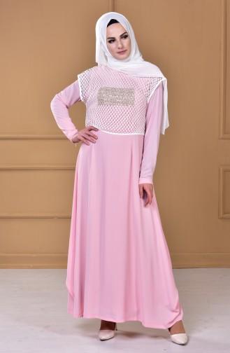 فستان بتصميم مميز 5039-02