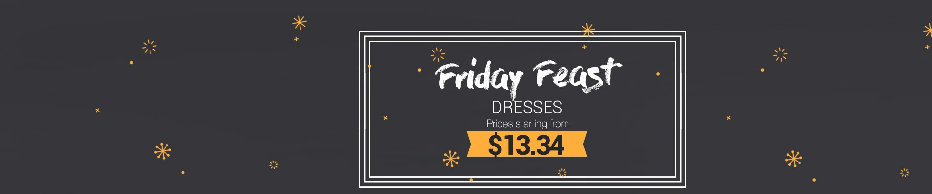 Discounted Dresses from Friday to Friday
