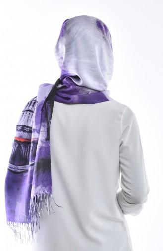 Purple Sjaal 05