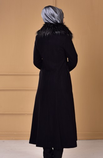 Black Lange Jas 35776-02