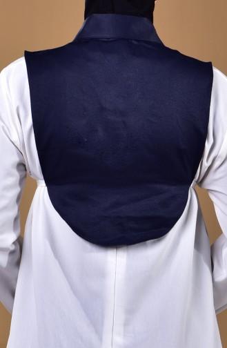 Gömlek Yaka 7133-01 Lacivert
