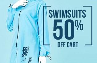 Sefamerve Swimwear 50% off on your cart