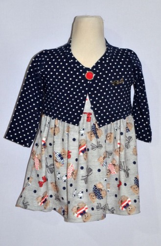 Red Baby and Kids Dress 9230-02