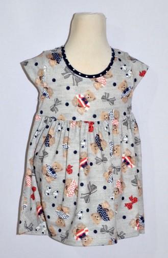 Kız Bebek Bolerolu Elbise 9230-02 Lacivert