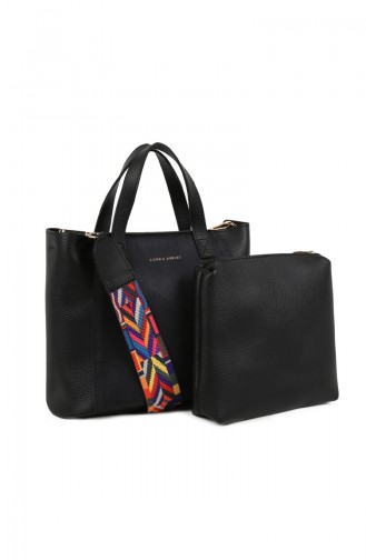 Black Shoulder Bag 651LAS0701