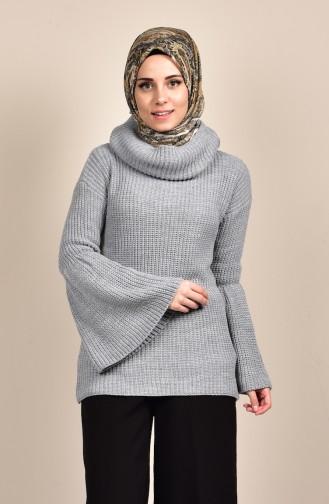 Gray Sweater 0553-05