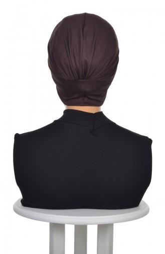 Bonnet Peigné DB0001-5 Brun 0001-5