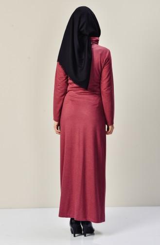 Dusty Rose İslamitische Jurk 9211-02