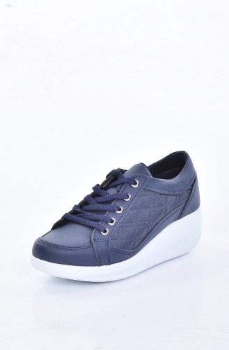 Navy Blue Sport Shoes 0107-03