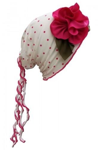 Fuchsia Hat and bandana models 35