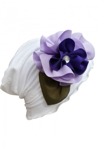 Purple Hat and bandana models 02