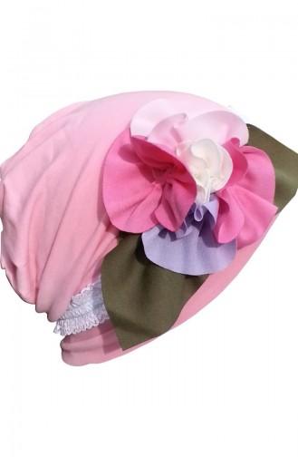 القبعات والباندانا وردي 42