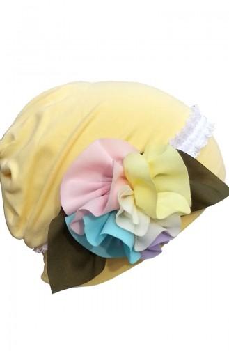 Gelb Hat and bandana models 61