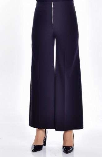 Pantalon Large 0845-07 Noir 0845-07