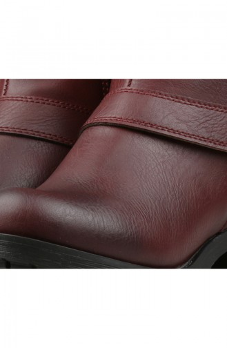Claret red Bot-bootie 26030-02