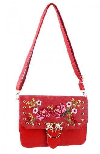 Red Shoulder Bag 42607-06