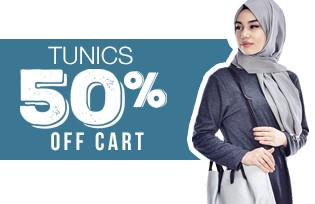 50% Off of Cart with Tunic Models