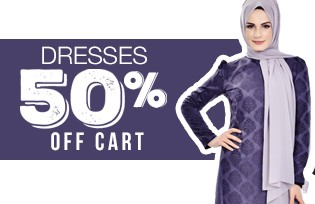 50% Off of Cart on Dress Models