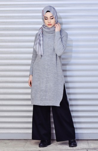 Gray Sweater 3872-11