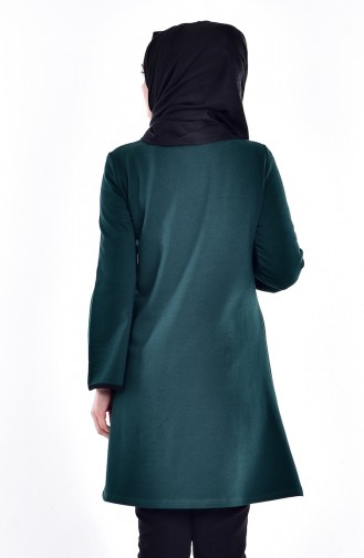 Tunique Vert emeraude 2858-04