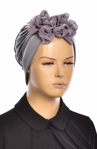 Gray Ready to wear Turban 1006-05