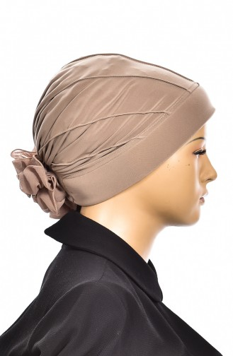 Beige Ready to wear Turban 1006-08