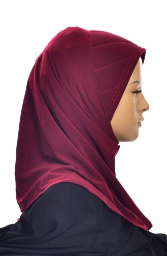 Claret red Ready to wear Turban 1005-07