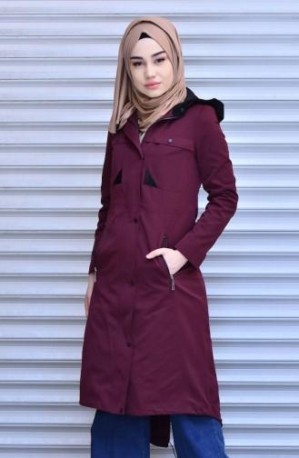 Claret red Raincoat 35767-05