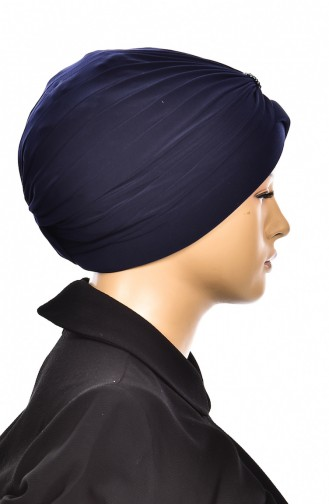 Navy Blue Bonnet 1007-02