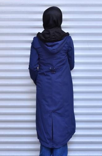 Navy Blue Raincoat 35767-01