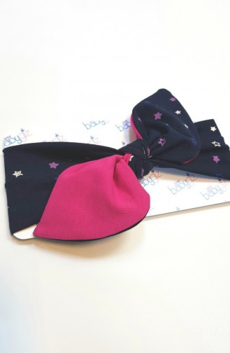 Navy Blue Hat and bandana models 070