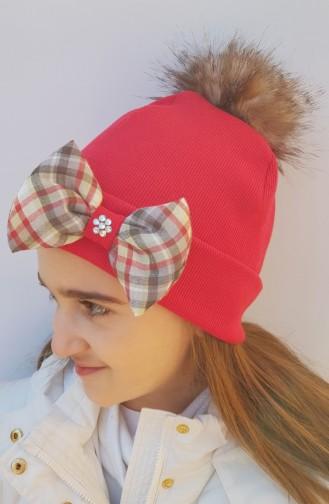 Spezieller Design Mütze NS0159 Rot 0159