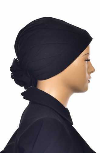 Black Ready to wear Turban 1006-01