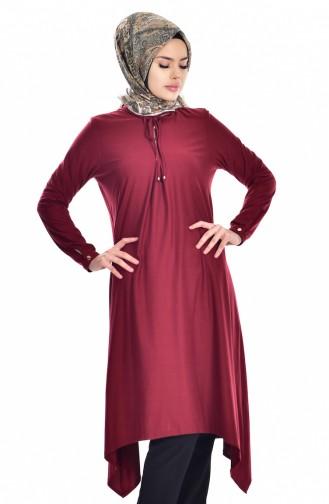 Claret red Tunic 5015-03