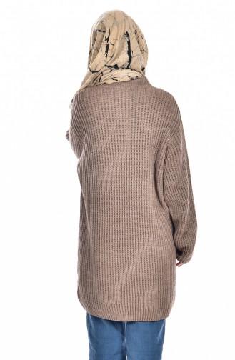 Pull tricot 4017-04 Vison 4017-04