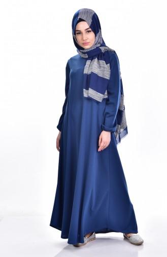 Robe Hijab Indigo 0006-09