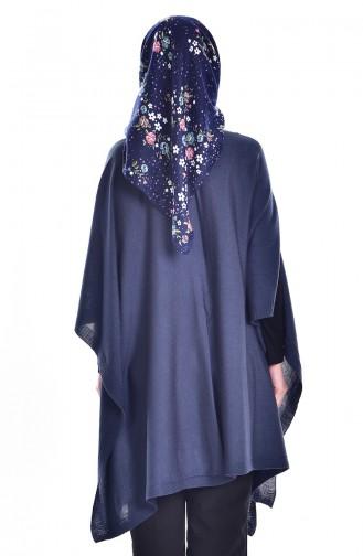 Knitwear Poncho 2002-10 Indigo 2002-11