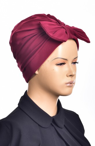 Sandy Turban Bonnet Prêt 1002-05 Bordeaux 1002-05