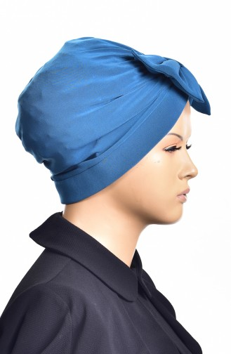 Sandy Ready Turban Bone 1002-02 Petrol 1002-02